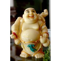 Tượng Bồ Tát Di Lặc cười bụng bự cao 10cm