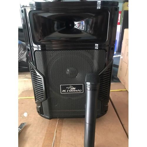 có video LOA DI ĐỘNG KIOMIC K108 tặng 1 mic không dây