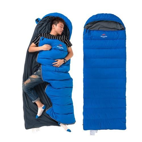 Túi ngủ văn phòng màu xanh