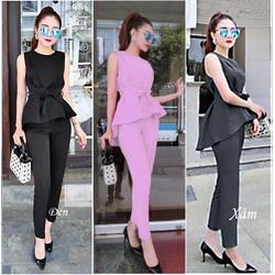 Set quần dài áo đuôi tôm Bạch Nguyễn