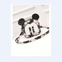 Túi mini đeo chéo hình Mickey họa tiết lạ mắt