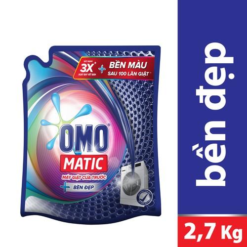 Nước giặt Omo Matic cửa trước túi 2.7kg - 5060062 , 10666644 , 15_10666644 , 157000 , Nuoc-giat-Omo-Matic-cua-truoc-tui-2.7kg-15_10666644 , sendo.vn , Nước giặt Omo Matic cửa trước túi 2.7kg