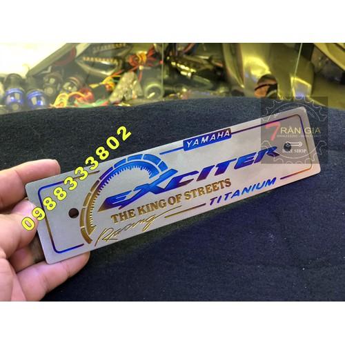 bảng tên exciter titanium đẹp - 10675532 , 10669216 , 15_10669216 , 350000 , bang-ten-exciter-titanium-dep-15_10669216 , sendo.vn , bảng tên exciter titanium đẹp