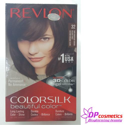 Thuốc Nhuộm Tóc Revlon Colorsilk 32 - Nâu gỗ sậm - 10675361 , 10667960 , 15_10667960 , 98000 , Thuoc-Nhuom-Toc-Revlon-Colorsilk-32-Nau-go-sam-15_10667960 , sendo.vn , Thuốc Nhuộm Tóc Revlon Colorsilk 32 - Nâu gỗ sậm