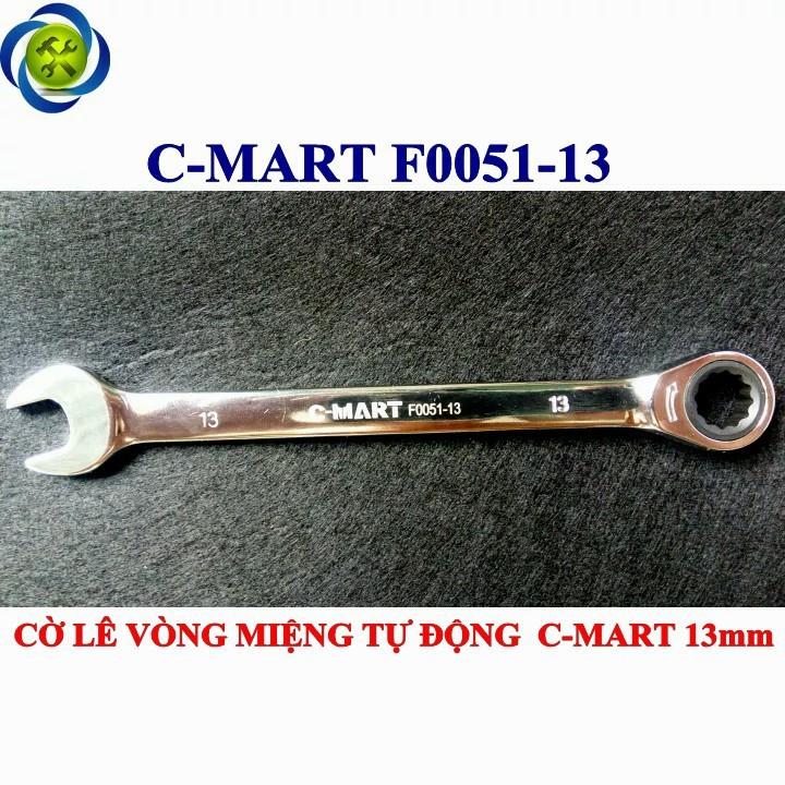 Cờ lê vòng miệng tự động C-mart F0051-13 13mm 1