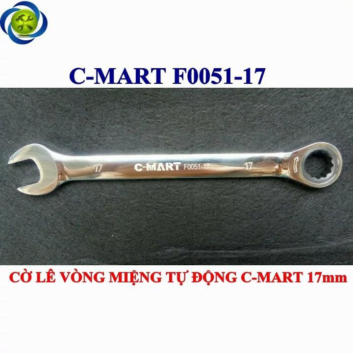 Cờ lê vòng miệng tự động C-mart F0051-17 17mm 6