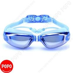 Kính bơi thời trang chống tia UV 1940 gắn bịt tai-Blue