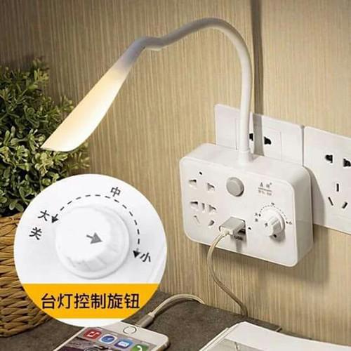 Ổ điện kèm đèn có điều chỉnh to nhỏ