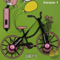 Tai nghe nhạc hình xe đạp