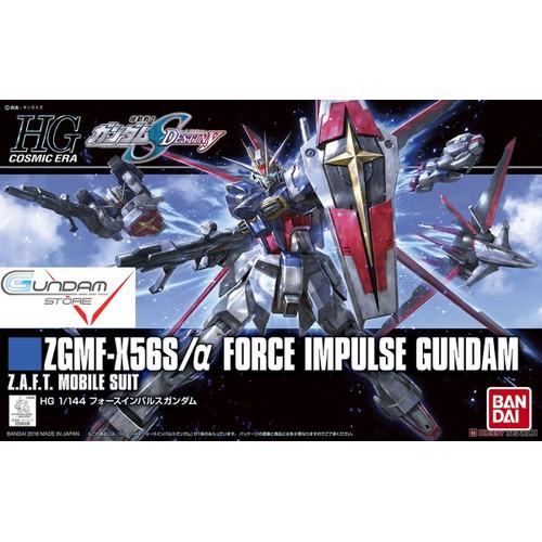 Gundam bandai hg force impulse seed mô hình nhựa đồ chơi lắp ráp anime nhật tỷ lệ 1/144 hgseed