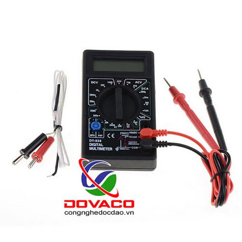 Đồng hồ đo điện vạn năng mini DT838