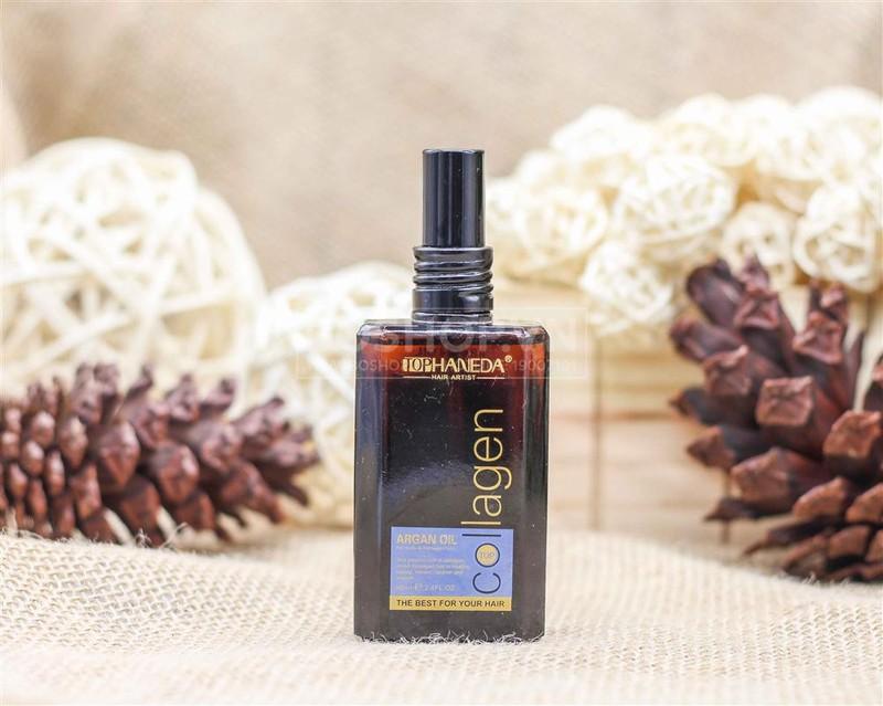 Tinh dầu dưỡng tóc Haneda Collagen Argan Oil 1