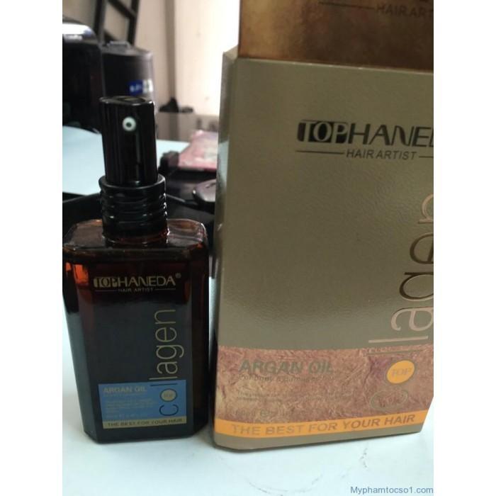 Tinh dầu dưỡng tóc Haneda Collagen Argan Oil 3