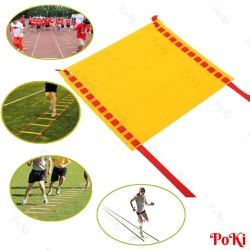 Thang dây thể thao tập luyện thể lực bóng đá 10m 20 thanh - POKI