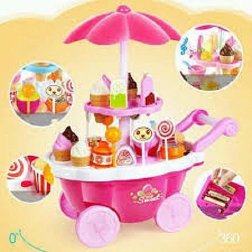 Bộ đồ chơi xe đẩy bánh kem có nhạc, có đèn cho bé - 4370362 , 10659898 , 15_10659898 , 280000 , Bo-do-choi-xe-day-banh-kem-co-nhac-co-den-cho-be-15_10659898 , sendo.vn , Bộ đồ chơi xe đẩy bánh kem có nhạc, có đèn cho bé