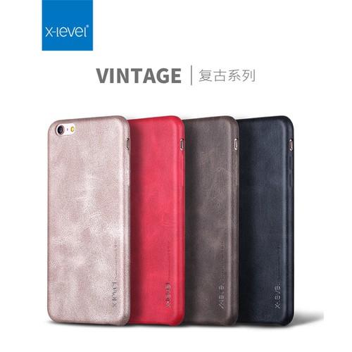 Ốp lưng da x-level vintage iphone 6 6s