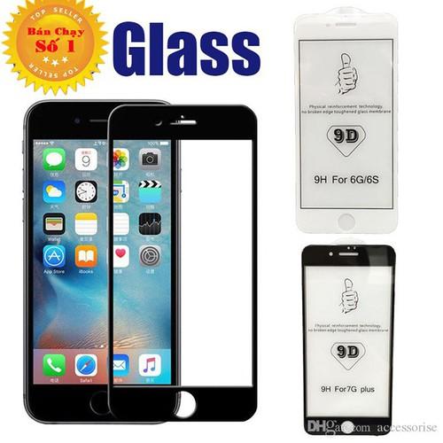 Mới nhất Kính Cường Lực i Phone 6S PLUS - Cường Lực 9D - Kính Tốt kèm  khuyến mãi - chỉ 57.643đ