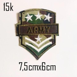 Sticker vải Army 054