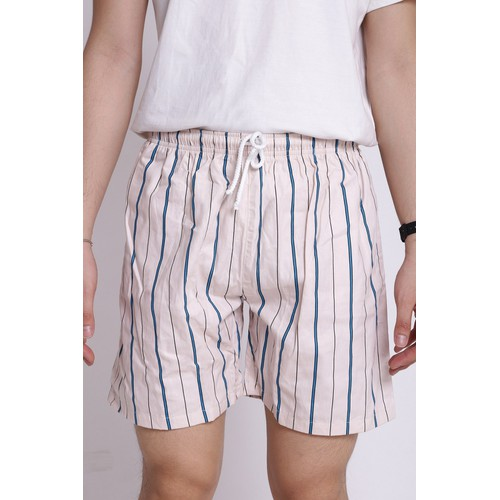 Quần short nam cotton lưng thun QS03 sockemxanh