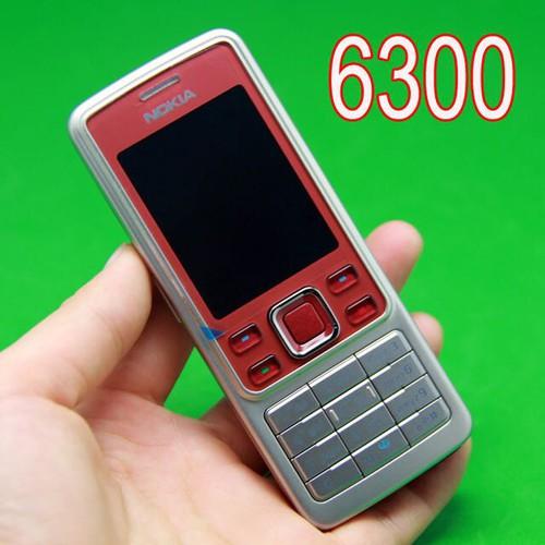 Điện Thoại Nokia 6300 Đỏ Mới Chính Hãng