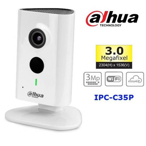 Camera IP Wifi không dây Dahua C35P 3.0Mpx