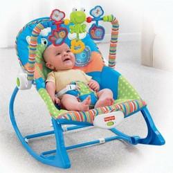Ghế rung cho bé- ghế rung cao cấp ibaby có thanh treo đồ chơi nghộ nghĩnh