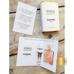 Nước hoa nữ ống xịt vial Chanel Coco Mademoiselle Eau De Parfum 2mL