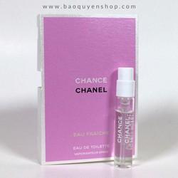 Nước hoa nữ ống xịt vial Chanel Chance Eau Fraiche Eau de Toilette 2mL