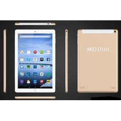 Máy tính bảng Mid D101 gắn Sim 3G, Ram 2GB