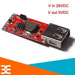 Module Hạ Áp Buck DC-DC 3A In 4.5 - 28VDC Out 5VDC