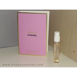 Nước hoa nữ ống xịt vial sample Chanel Chance Eau De Parfum 2mL