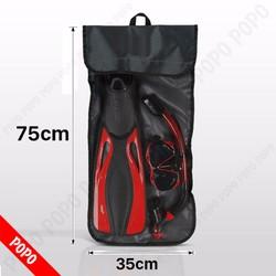 Túi đựng mặt nạ lặn, ống thở, chân kích thước 75cm x 35cm