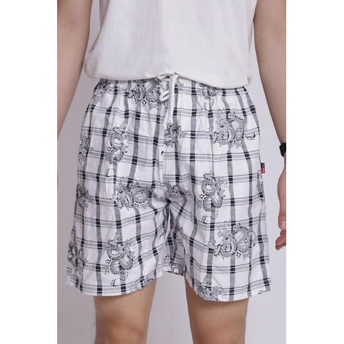Quần short nam cotton lưng thun QS04 socrongxam
