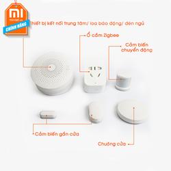 Bộ điều khiển trung tâm và các cảm biến Xiaomi Smart Home Kit 5 món