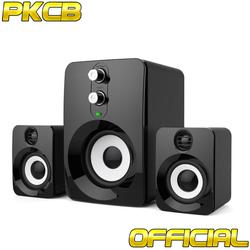 Loa Nghe nhạc dùng cho máy tính, điện thoại speakers PKCB-201 mới 2018