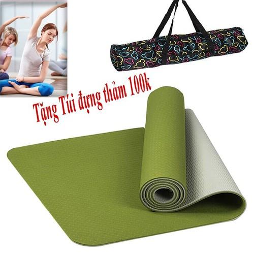 Thảm Yoga TPE 2 lớp