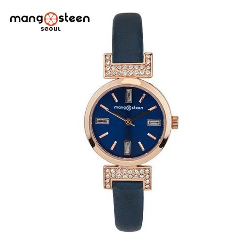 Đồng hồ nữ MS514D MANGOSTEEN SEOUL Hàn Quốc dây da