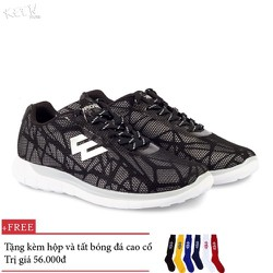 Giày thế thao nam nữ Prowin Storm đen -nhà phân phối chính từ hãg