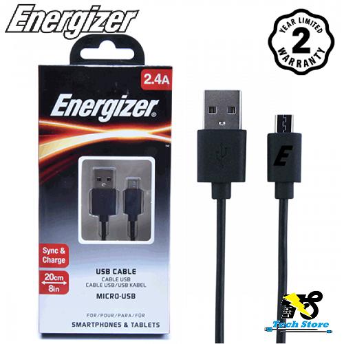 Cáp Micro USB Energizer 20cm - 5069407 , 10707111 , 15_10707111 , 75000 , Cap-Micro-USB-Energizer-20cm-15_10707111 , sendo.vn , Cáp Micro USB Energizer 20cm