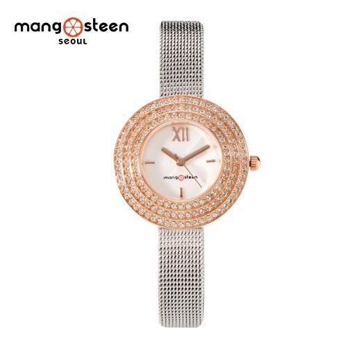 Đồng hồ nữ MS509C MANGOSTEEN SEOUL dây thép không gỉ
