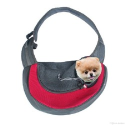 Túi xách chó mèo - Túi đeo chéo cho chó cực sành điệu