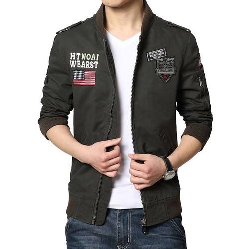 Áo khoác jacket quân đội Mỹ - 4374189 , 10709336 , 15_10709336 , 920000 , Ao-khoac-jacket-quan-doi-My-15_10709336 , sendo.vn , Áo khoác jacket quân đội Mỹ