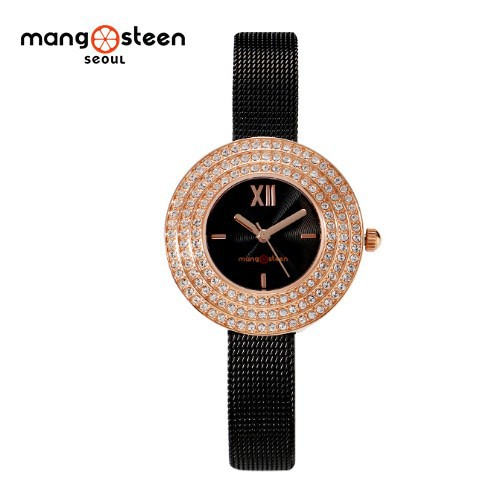 Đồng hồ nữ MS509B MANGOSTEEN SEOUL dây thép không gỉ