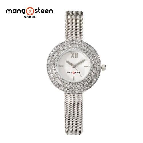 Đồng hồ nữ MS509D MANGOSTEEN SEOUL dây thép không gỉ