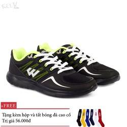 Giày thế thao nam nữ Prowin XM151 full đen - nhà phân phối chíh từ hãg