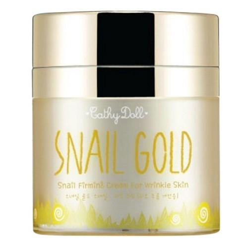 Kem ốc sên vàng dành cho da lão hóa snail gold snail filming cream for wrinkle skin cathy doll 50 gram