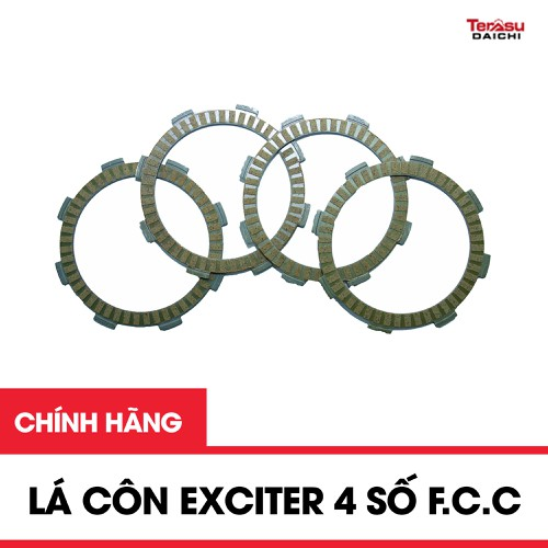 Sản phẩm lá côn dành cho xe máy exciter 4 số f.c.c