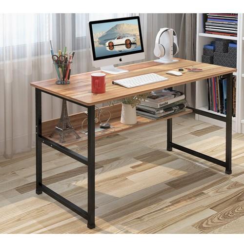 Bàn đa năng cỡ nhỏ - Bàn làm việc - bàn làm việc 2 tầng- bàn làm việc gỗ