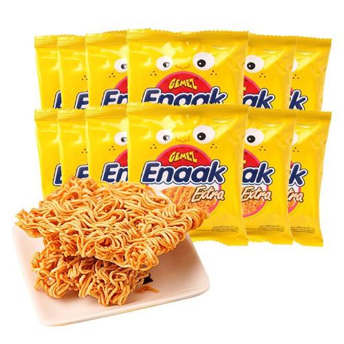 12 Gói Mỳ Ăn Liền Tẩm Giá Vị Gemez Enaak Ectra Chicken 30g