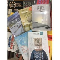 Combo Những cuốn sách nói về cách sống ở Nhật Bản